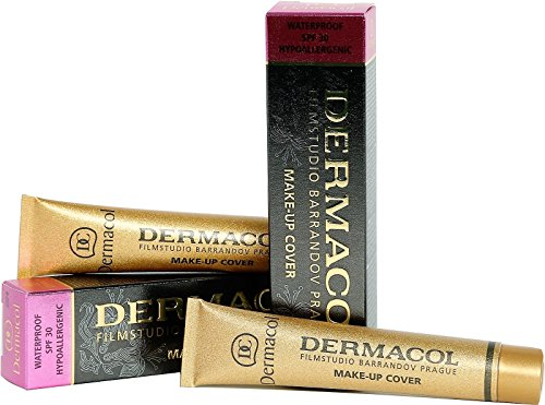 Dermacol Hochdeckend MAKE UP COVER FOUNDATION hypoallergen, für alle Hauttypen, (221)