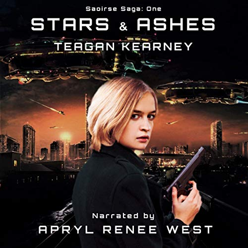 Stars & Ashes audiobook cover art