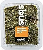 Snaqs Algas marinas veganas con nueces - snacks salados - alimentos deshidratados - Paquete de 10x40 gramos 90103