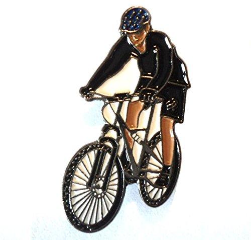 Anstecknadel für Mountainbike, Fahrrad, Metall, Emaille