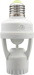 Cablematic - Detector de movimiento por infrarrojos para bombilla E27