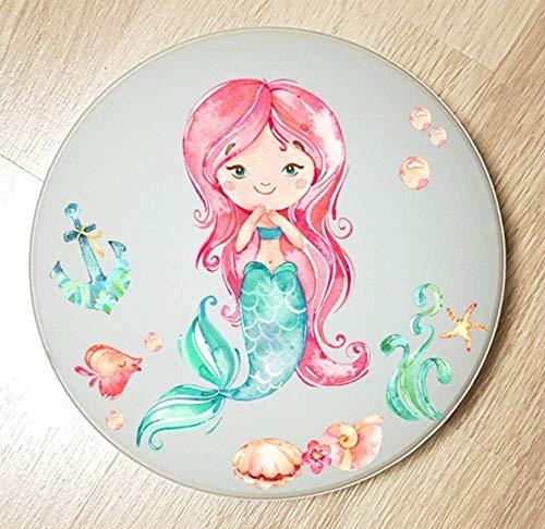 Deckenleuchte/Wandlampe * Meerjungfrau Mermaid 3 * auch LED - mit/ohne Name