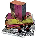 Bag IN Box Bolsa con Grifo en Caja para Vino, Leche, zumos, Aceite, etc. (Pack 5 Unidades) (5L)