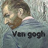 VAN GOGH CALENDAR 2021: VAN GOGH WALL CALENDAR 2021 FINISH GLOSSY FANCY ART GIFT