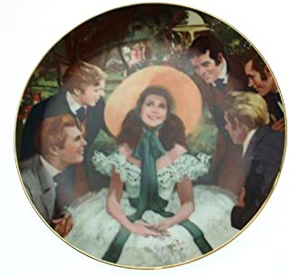 Bradford Exchange W S George Gone with The Wind Golden Anniversary Series Scarlett and her Suitors Plate CP1824