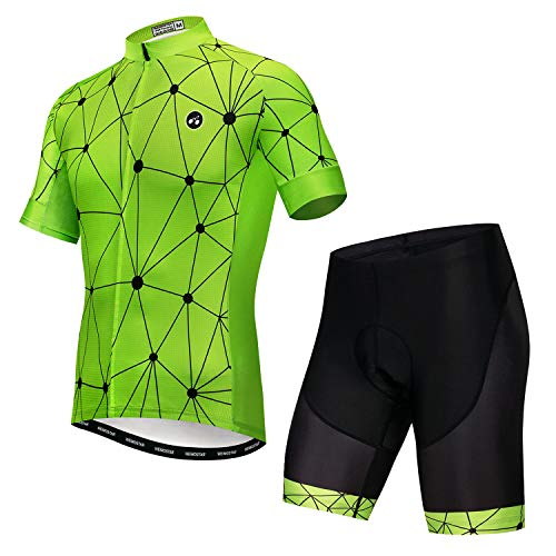 JPOJPO - Maillot de ciclismo para hombre Pro Team Bicicleta Ropa MTB Bicicleta Jerseys Pantalones Cortos Conjunto -  -  3XL (altura 185 cm/peso 110/130 kg)