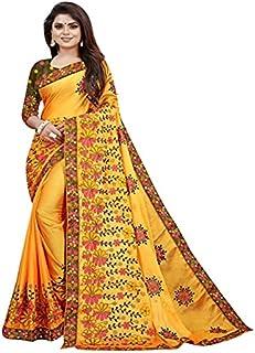 KD Fabulous Women's Pure Cotton Saree With Blouse Piece (KD-A-4-6)