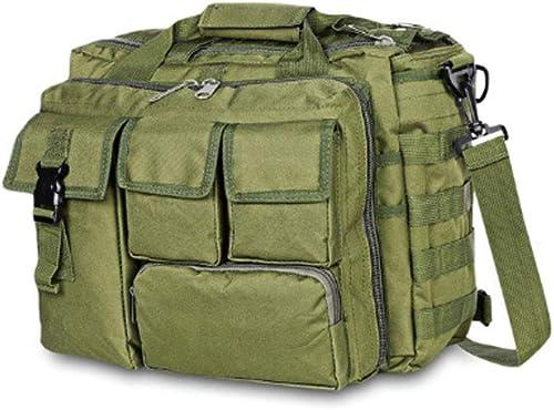 KIKBLW Sac Tactique extérieur de Messager, Sac d'ordinateur de Camouflage imperméable