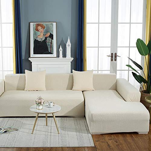 KTUCN Sofa Schonbezüge, Elastische Sofabezug Weiche Elegante All-Inclusive-Samt Luxus Hübsches Dekor Schonbezug Couch Für Wohnzimmer im Wohnzimmer, E, 5-seat 305-360cm(1PC