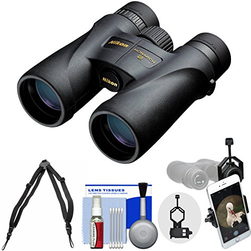Nikon Monarch 5 10x42 ED ATB Waterproof/Fogproof Binoculars with Case...