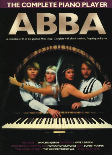 The Complete Piano Player Abba Pvg: Noten, Songbook für Klavier, Gesang, Gitarre