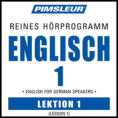 ESL German Phase 1, Unit 01 audiobook cover art