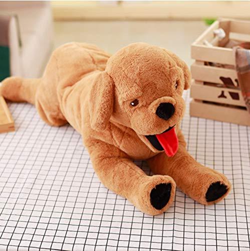 Schattige Labrador Knuffel, Gevulde Pluche Dier Hond Poppen, Baby Sleepping Sussen Speelgoed, Kinderen Kinderen Meisjes Cadeau Poppen 40Cm