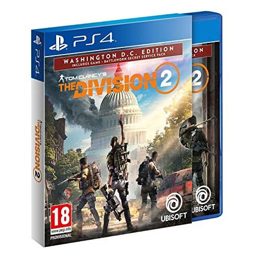 PS4 Tom Clancy's The Division 2 Washington D.C. Edition incl. Russian Audio