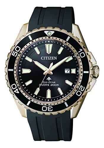 Citizen Herren Analog Solar Uhr mit PU Armband BN0193-17E