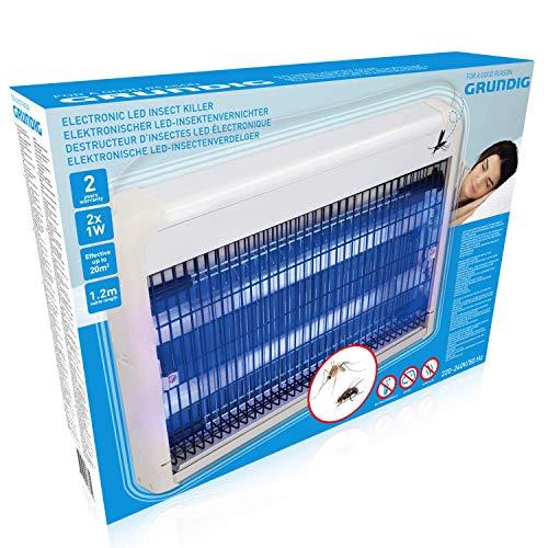 GRUNDIG Insektenvernichter, Elektrisch Insect Killer UV, Weiss