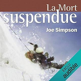 Page de couverture de La mort suspendue