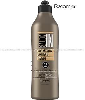 Braziliss Permanent Hair Straightener Natural Process Blowout No Formol No Frizz | Alisadora Keratin 33.3oz(1000ml)