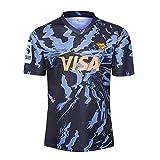 YINTE 2020 Jaguars Coupe du Monde De Rugby Maillots, Accueil Et Maillot De Football Entraînement Compétition, Supporter Football Sport Top, Idéal pour Les Loisirs Et Le SP Away-XXXL