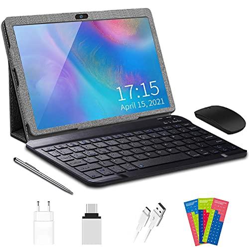 4G LTE Tablet PC,Tablets 10.1 Pollici Android 10.0, 3GB RAM  32GB ROM Espandibile 128GB, SIM Con WIFI offerte GPS 8000mAh AOYODKG A38 Tablet(Grigio)