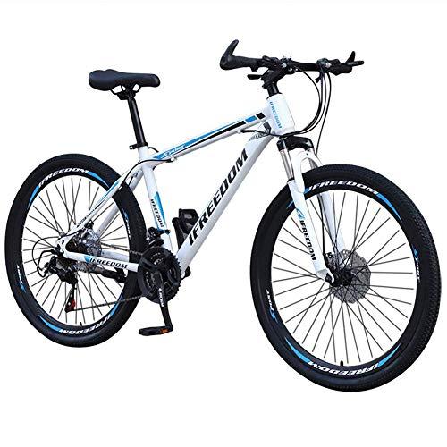 Bicicleta Montaña 26 Pulgadas, Variable Adulto Velocidad De Bicicleta Aleación Big Wheels...