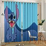 Juego de cortinas de fondo divertidas, para decoración del hogar, 75 x 166 cm x 2 piezas