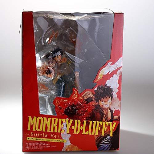 CJYVV Anime One Piece RONOA Zoro Geist 3D2Y Drei Geist-Messer-Cut Ver!PVC Sauron Action-Figur Sammlung Modell Luffy Geschenk (Color : Luffy Real Boxed)