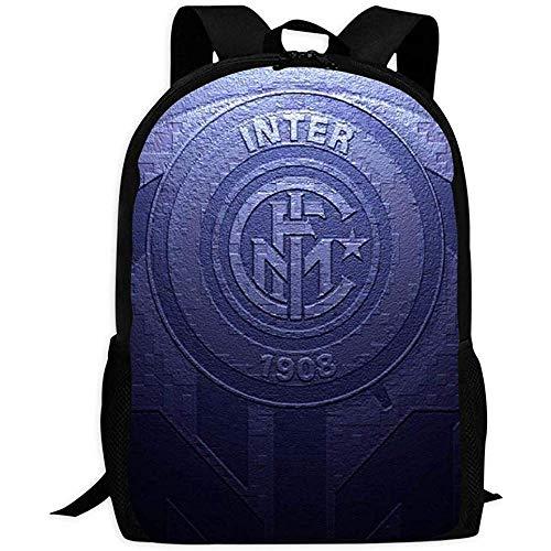 Universitaria Daypack,Borsa Scuola Moda Inter Inter Milano Per Adulti