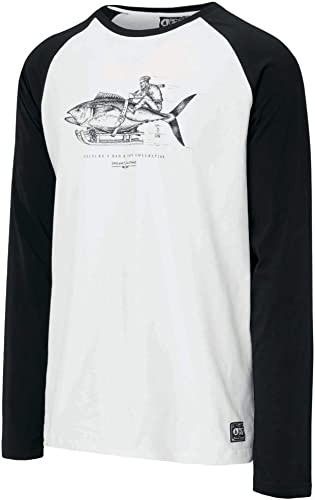 Picture Organic T-Shirt MoHommest Ls T blanc