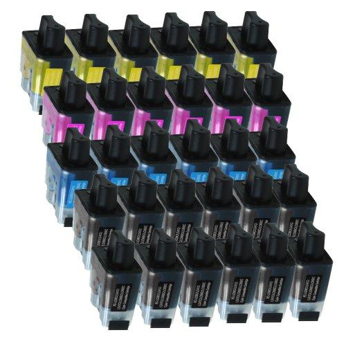 30 Druckerpatronen Tinte für Brother DCP 110C DCP 115C DCP 120C MFC 210C MFC 215C ersetzen LC-900