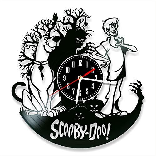 Scoby Clock Vinyl Clock, Doo Wall Clock 12', Original Decor Art, The Best Home Decorations