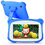 Kids Tablet, ASIUR QuadCore 2GB RAM 16GB ROM Android 9.0 Kids Educational Learning Tablets for Toddlers with Parental Control & 7' HD Screen