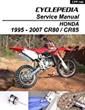 1995-2007 Honda CR80 CR85 Service Manual