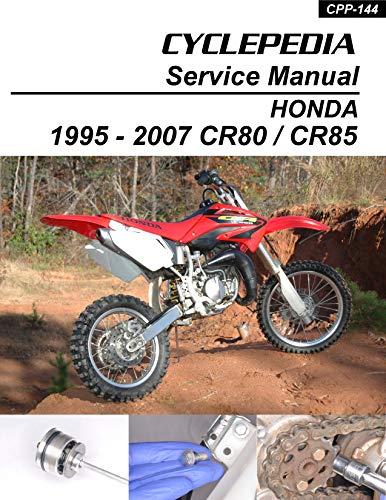 1995-2007 Honda CR80 CR85 Service Manual