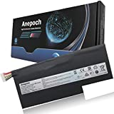 Anepoch BTY-M6K Laptop Battery for MSI Stealth Pro GS63VR 7RG 7RG-005 7RG-036CN GF63 Thin 8RC 8RD 9SC 8RD-050NL 8RD-031TH 010ES GF75 Thin 3RD 8SC 8RX 9SC 9SC-088CN MS-17B4 MS-16K3 11.4V 52.4Wh 4600mAh