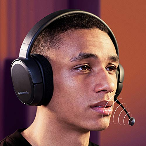 SteelSeries Arctis 1 Wireless Cuffie da Gioco Wireless USB-C Wireless, Microfono Clearcast Rimovibile, PlayStation 4, Senza Fili, 10 - 40.000 Hz, Nero