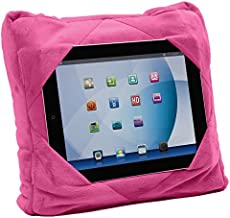 Gogo Pillow - 3-in-1 Travel Pillow, Neck Pillow, Tablet Holder - Pink
