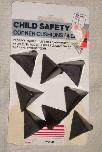 Child Safety Corner Cushions Set of 8 Brown