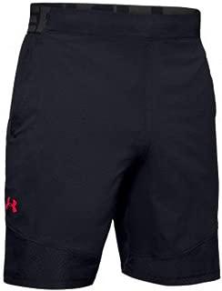 Under Armour Men's Vanish Woven Short Novelty Shorts, Black (Black/Beta Red), X-Large