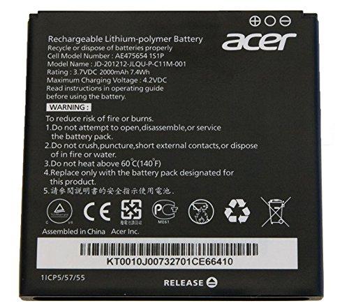 Original Acer/batería de 2000 mAh Liquid E2 (V370)