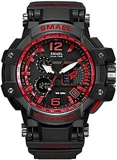 Sport Watch Men Digital LED Electronic Watches Rubber Quartz Wristwatches