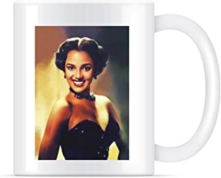 Dorothy Dandridge, Hollywood Legend Classic Coffee Mug for Women and Men Tea Cups