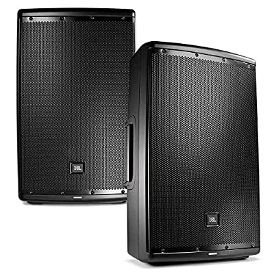 JBL EON 615 15 in Powered PA Speaker Pair Bundle from JBL Pro