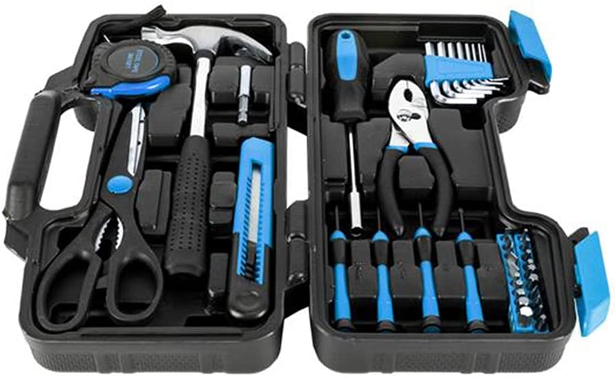 JJCF 39-Piece Household Tool kit Set Repair Auto Outlet ☆ Free Selling rankings Shipping Kits