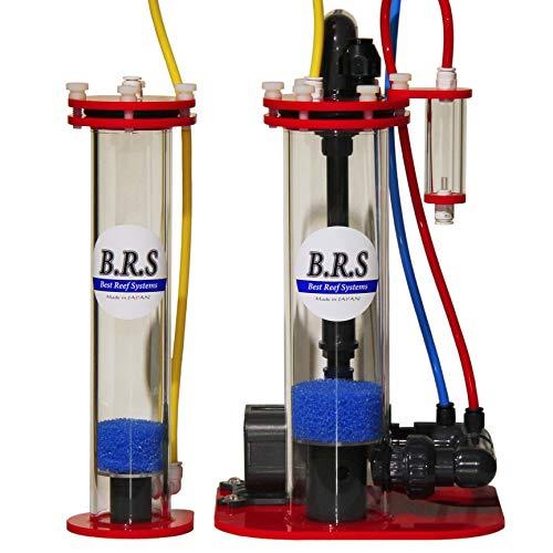 ミドリイシの育成に【300L対応】B.R.S純日本製カルシウムリアクター セカンドステージ同梱セット pHセンサー取付口標準装備/B.R.S CaR-300+CaR2-Mini(日本製正規品)本体色:レッド