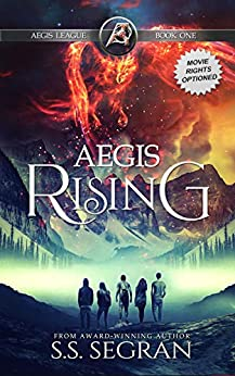Aegis Rising: Realistic Fantasy Adventure (The Aegis League Series Book 1) by [S.S. Segran, Gordon Williams]