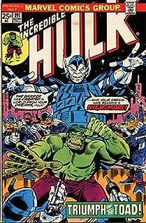 Incredible Hulk, The, Edition# 191
