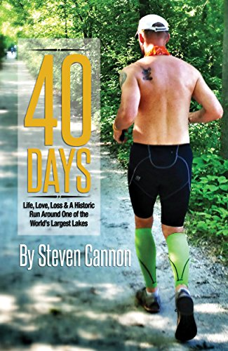 Runner Steve Cannon details his experience trekking Lake Michigan in this free e-book from Kindle. Published December 7, 2015.