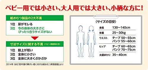 リフレはくパンツジュニア男女兼用SSサイズ20枚入【介助があれば歩ける方に立てる・座れる方に】