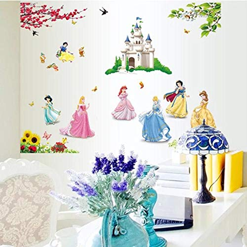 Kibi Princesas Disney Pegatinas De Pared Disney Stickers Infantiles Pa